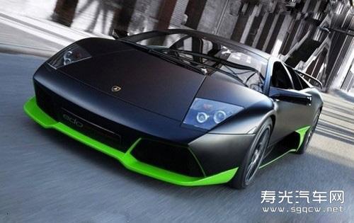 最快的车 极速超越365公里 时 兰博基尼高清图片