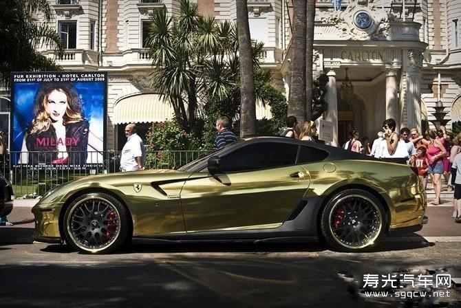 迪拜黄金车_迪拜王子的黄金车、迪拜王子黄金车图片_淘宝助理