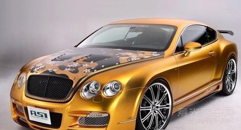 黄金圣衣加深 镀金豪车大盘点