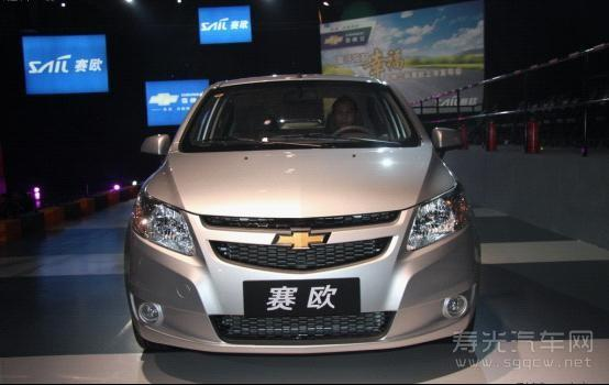 """雪佛兰新赛欧一举摘取了2012年度车市销量""""双"""