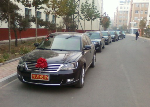 寿光帕萨特新领驭婚车队精彩图片高清图片